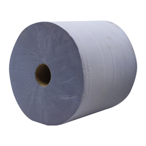 Wiper Roll - 3ply blue 370mm x 355m