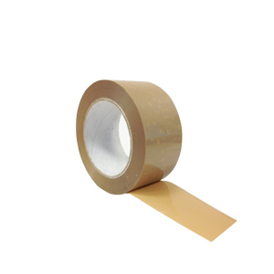 Tape - PVC buff 48mm x 66m heavy duty