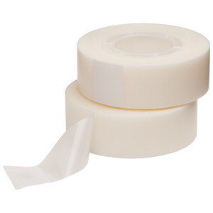 Tape - easy tear stationery clear 25mm x 66m (almond)