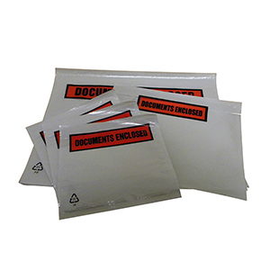 Affix™ Doc Enclosed Envelope - plain 225 x 122mm DL