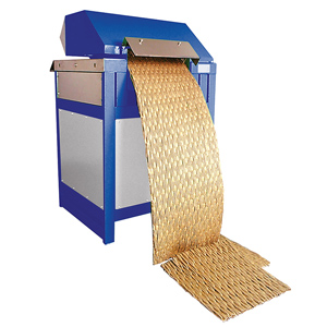 Cardboard convertor - single phase, 320mm cutting width, 15mm thickness