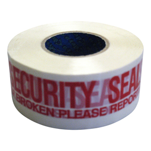 e-tape™ 1 Gold - 48mm x 150m printed 'Security Seal'