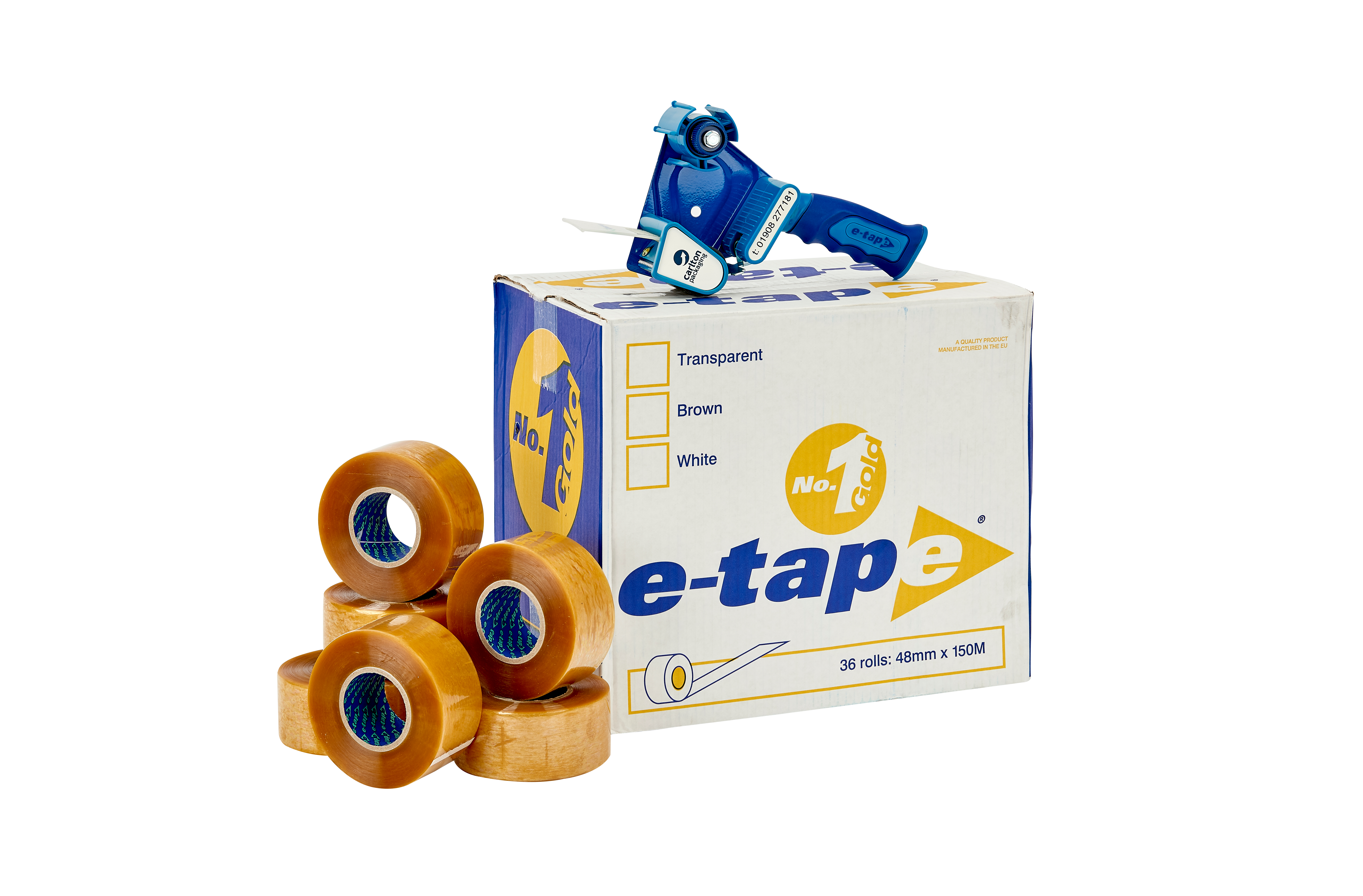 e-tape™ 3 Plus - 70mm x 100m clear