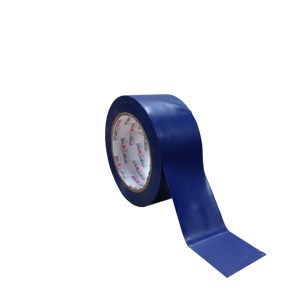 Tape - floor marking hazard Blue (packed 18 rolls/box)
