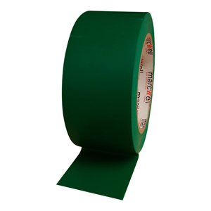 Tape - floor marking hazard green (packed 18 rolls/box)
