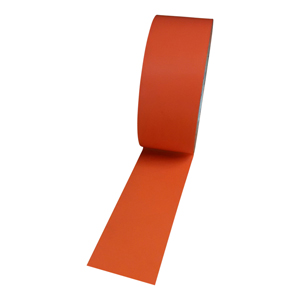 Tape - floor marking hazard orange (packed 18 rolls/box)