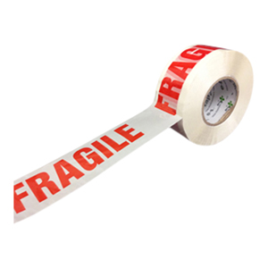 Tape - DENVA™ printed 'Fragile' 48mm x 66m