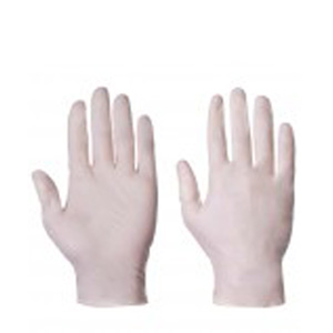 Gloves - Medical latex powder free large