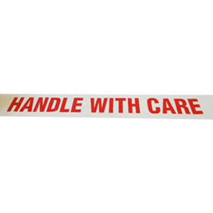Tape - printed 'Handle with care' 48mm x 66m