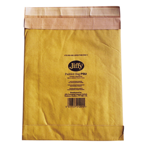 Jiffy Padded Bags - 225 x 343mm int. 100/box