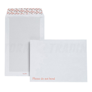 Board back envelopes - 238 x 163mm  - 'DO NOT BEND'