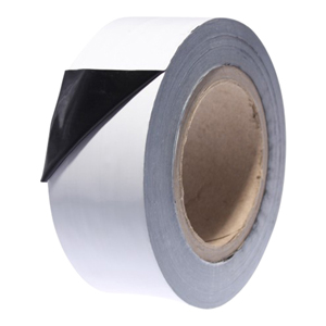 Tape - protection low tack black/white 75mm x 100m