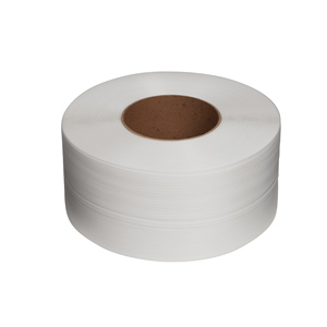 Strapping - pp 5mm x 0.40 x 6000m 150/160 core white