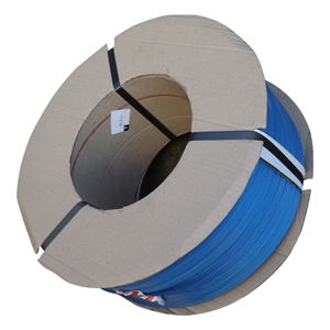 Strapping - pp 7mm x 0.63 x 5000m 200/190 core blue