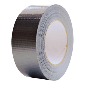 Tape - silver waterproof cloth 75mm x 50m
