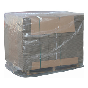 Pallet covers - 1100/1900 x 1000mm 100mu clear shrinkable