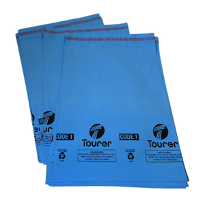 Polythene Mailing Sack - 229 x 318 + 50mm 55mu eq 1000/pack