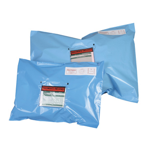 Polythene Mailing Sack - 305 x 406 + 50mm 55mu eq 500/pack