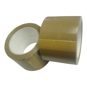 Tape - 48mm x 66m buff premium LNS
