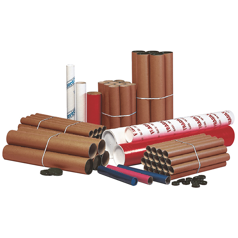 Postal tubes - 1025 x 44.5 x 2mm incl. end plugs