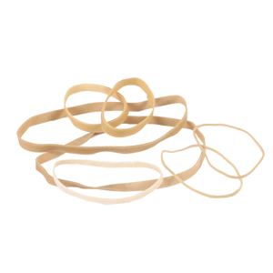 Rubber Bands - 3.0 x 80mm (600 /lb approx qty)