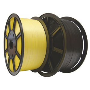 Strapping - TENSO™ pp plastic reel black 12mm x 0.75 x 1600m