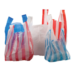 Carrier Bags - vest heavy duty large 11x17x21