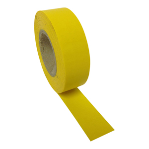 Tape - PVC yellow 9mm x 66m