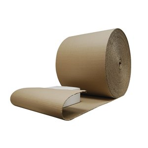 Corrugated Paper Rolls - 650mm x 75m