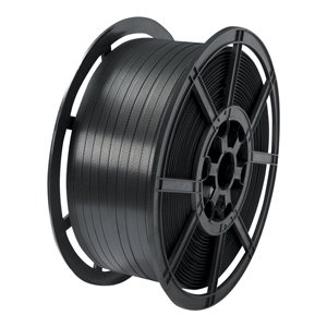 Strapping - pp 16mm x 0.68 x 1200m plastic core black